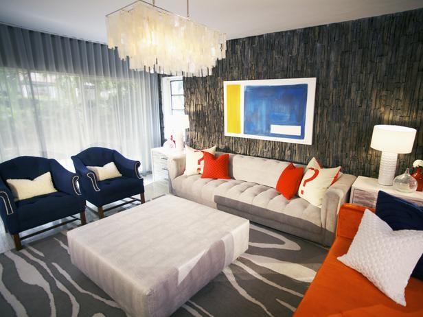 Contemporary living rooms david bromstad designer for David bromstad bedroom designs