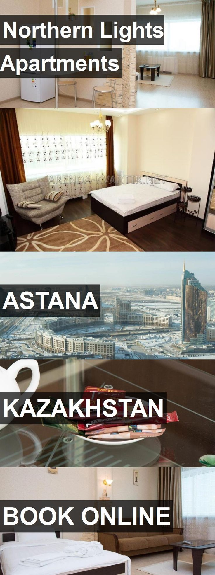Northern Lights Apartments in Astana, Kazakhstan. For more information, photos, reviews and best prices please follow the link. #Kazakhstan #Astana #travel #vacation #apartment