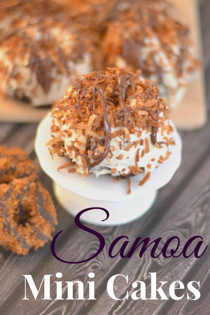 Samoa cake recipe