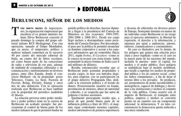 #ClippedOnIssuu from La Jornada, 10/06/2015