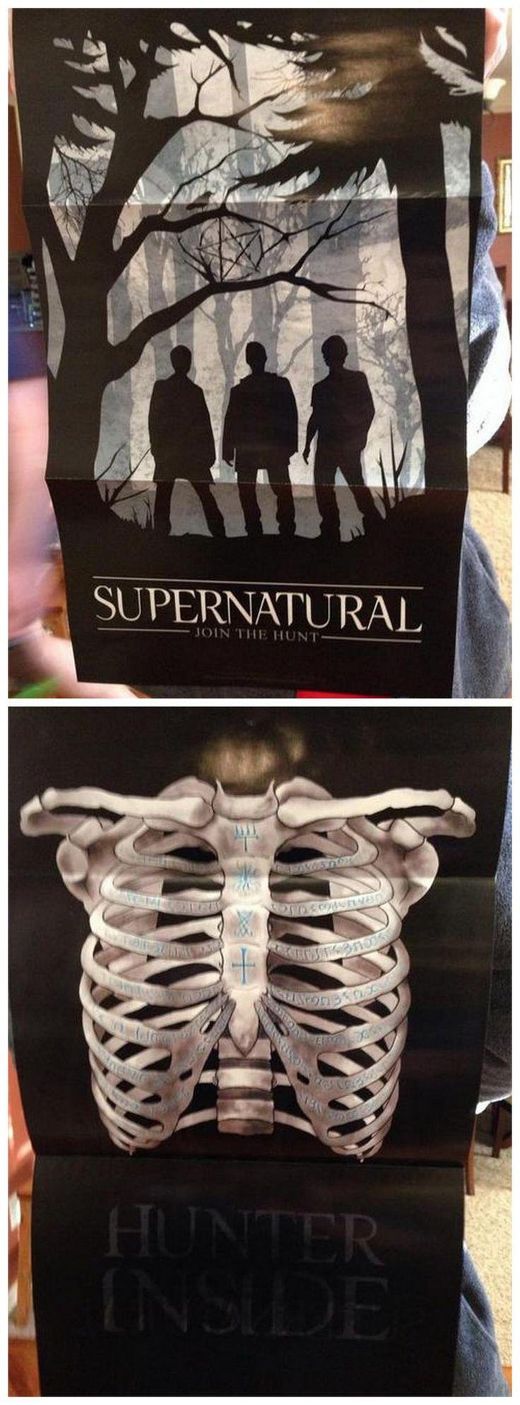 SDCC 2014 TV Guide Supernatural posters needneedneedneedneed