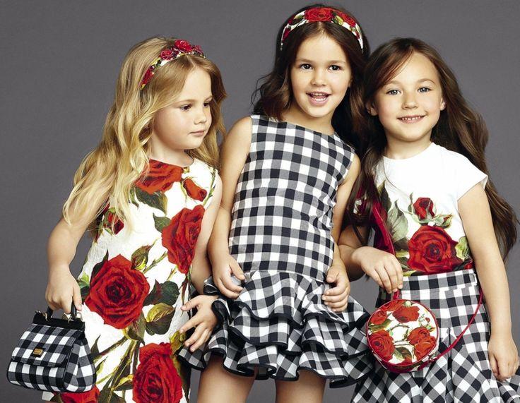 Kindermode für Mädchen - süße festliche Kleider