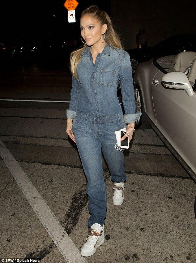 0e4d8d88c56a Welcome to Dayo Dane s Blog  PHOTOS  JENNIFER LOPEZ SHOWS STREET STYLE CHIC  IN DENIM JUMPSUIT