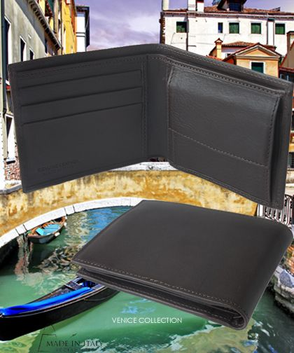 Venice Collection | Italian Brown Leather Wallets for Men | Made in Italy Accessories https://madeinitalyaccessories.com/belts-for-men