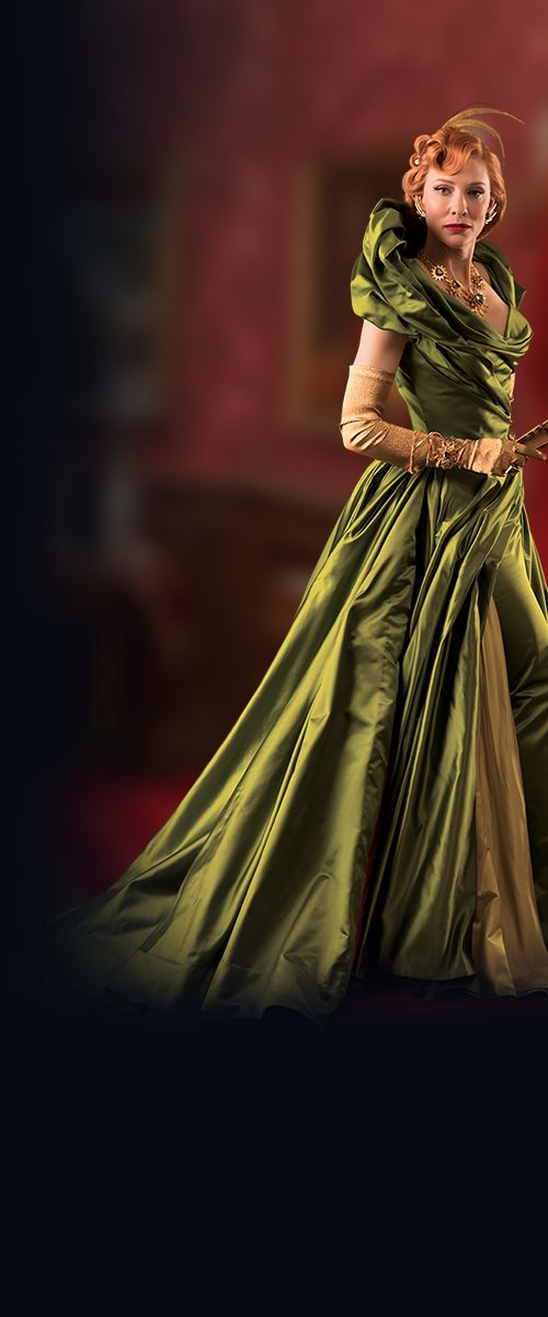 Disney Cinderella movie - Cate Blanchett - yet another amazing costume. This film needs to win an Oscar for costume!