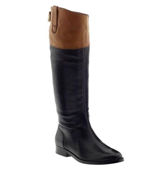 Best affordable fall boot... Ralph Lauren Riding Boot, $149