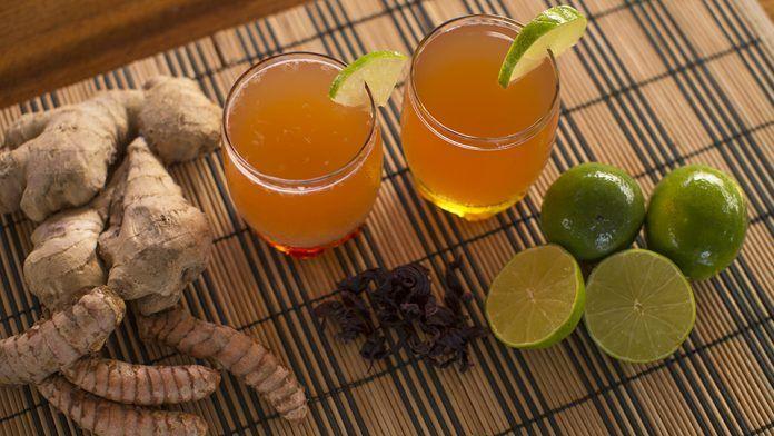 Αυτο είναι το ρόφημα για απώλεια βάρους, αποτοξίνωση και με πράσινο τσάι για αντιγήρανση και λάμψη