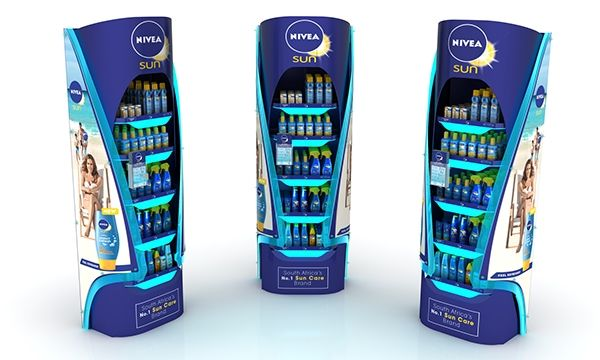 Nivea POS 2015 on Behance