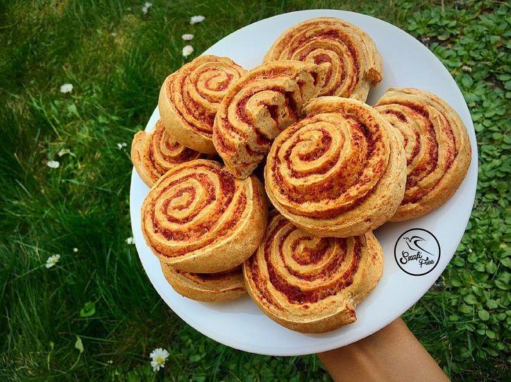 Vegán, gluténmentes mini pizzás croissant recept Szafi Free EXPRESSZ lisztkeverékből                   Hozzávalók:   200 g Szafi Free EXPRESSZ lisztkeverék (Szafi Free EXPRESSZ lisztkeverék ITT!)  3 g Szafi Fitt himalája só (Szafi Fitt himalája só ITT!)  20 g almaecet (va