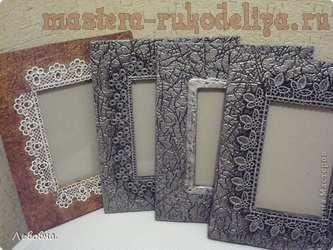Мастер-класс по декорированию: Рамки из потолочных плит