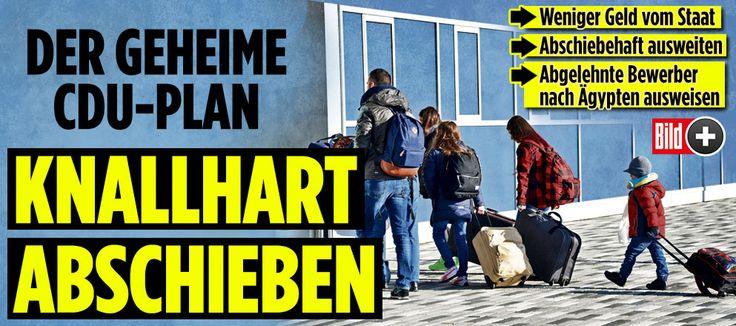 CDU-Strobls knallharter Abschiebeplan http://www.bild.de/bild-plus/politik/inland/thomas-strobl/so-brutal-will-die-union-jetzt-abschieben-48951030.bild.html