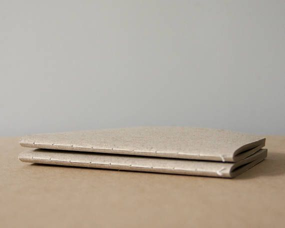 Linen Softcover Cotton Notebook  Sketchbook  Journal