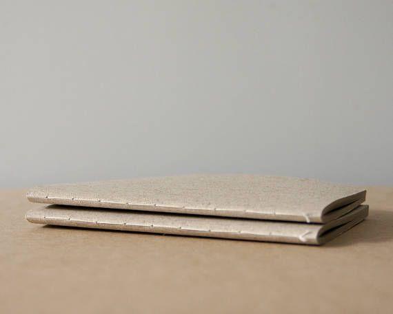 Linen Softcover Cotton Notebook  Sketchbook  Journal