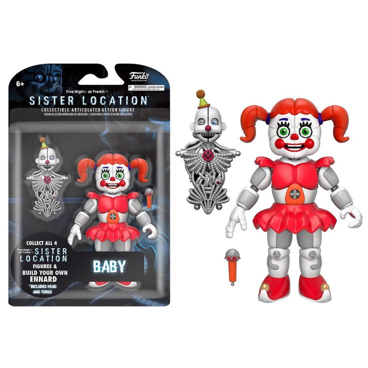Funko Five Nights At Freddy's Sister Location Baby Action Figure