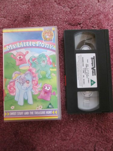 Sweetstuff and the treasure hunt VHS 1991