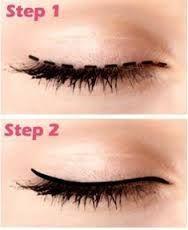 how to apply eyeliner for beginners: