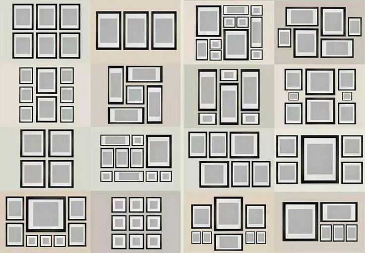 Voorbeelden indeling fotomuur