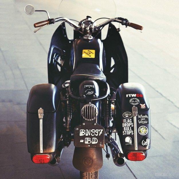 BMW R60 / 5 'Dustbeemer' von The Lucky Cat Garage