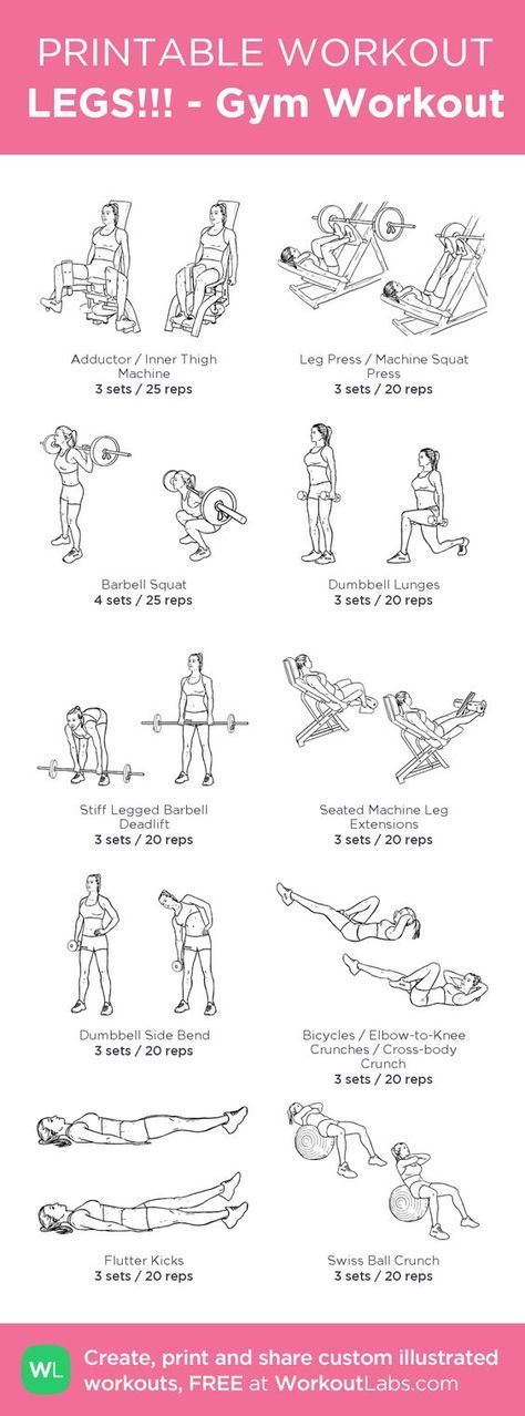 LEGS!!! – Gym Workout – my custom workout created at WorkoutLabs.com • Click…