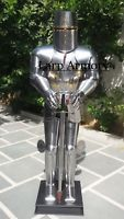 Medieval Templar Knight Suit of Armour Sword 17th Century Combat Halloween