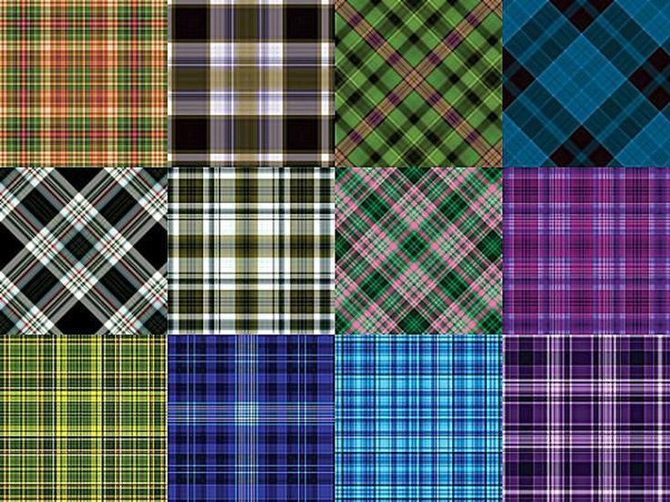 Free Plaid Patterns for Photoshop by Shelby Kate Schmitz: Plaid Patterns Set 5