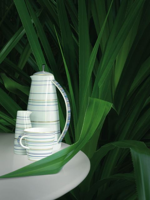 """#Raynaud - Limoges #porcelain - """"Attraction turquoise"""" collection"""