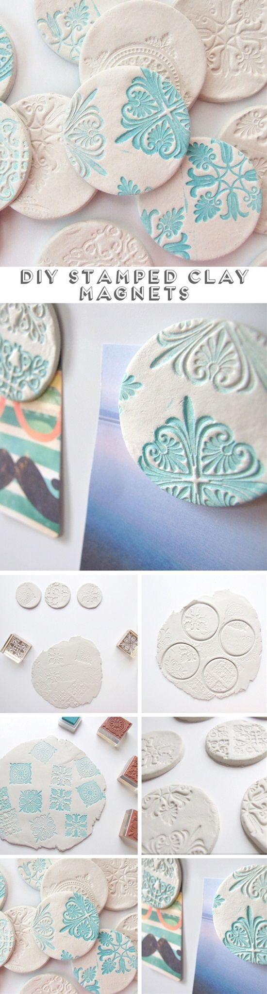 You can't have enough things on your fridge, there's always something needs to be pinned on it. But you don't always have to buy fridge magnets from the store, you can make them yourself. Take a look at these amazing fridge magnets you can create yourself.