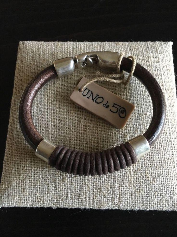 Mens Uno De 50 Leather Bracelet - NWT - Straight Jacket - Spectacular!! - Rare in Jewellery & Watches, Costume Jewellery, Bracelets | eBay