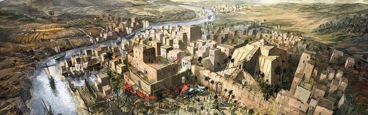 Archeologen stuiten in Irak op verloren stad die toebehoorde aan eerste wereldrijk op aarde - http://www.ninefornews.nl/irak-verloren-stad-eerste-beschaving/
