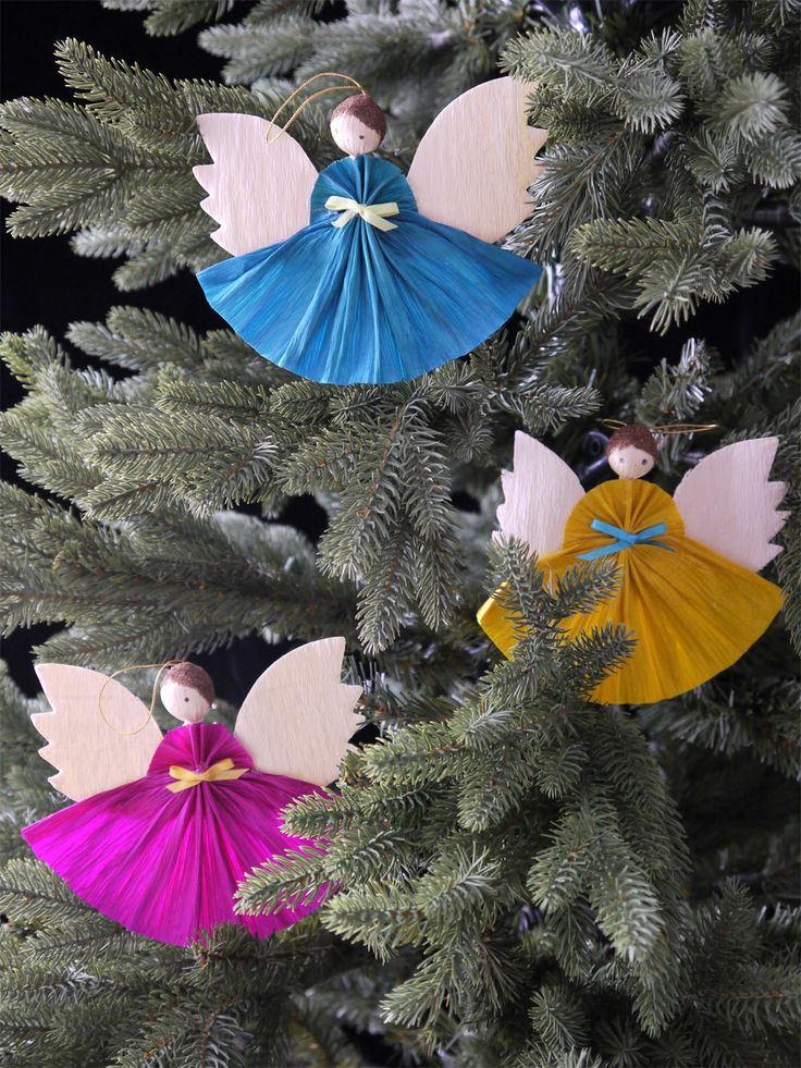 "The MOA Shop: ""Angel Cornhusk Ornaments (Coloured)""."