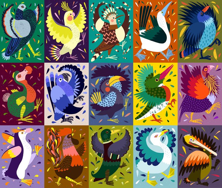 Marching Birds / Personal Project on Behance