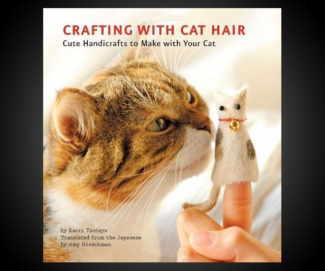 Crafting with Cat Hair | DudeIWantThat.com