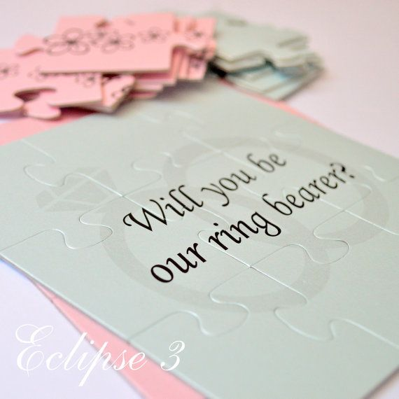 Will You Be Our Ring bearer Will You Be my Ring by BoutiqueEclipse