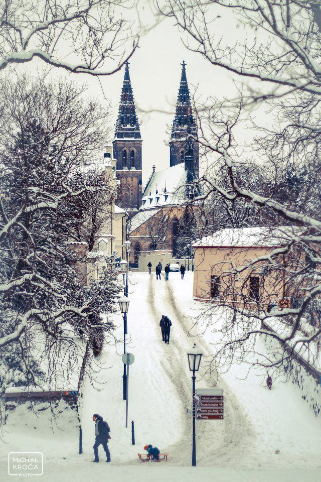 St Peter and St Paul Church, Vyšehrad, Prague | http://www.iconhotel.eu/en/contact/location