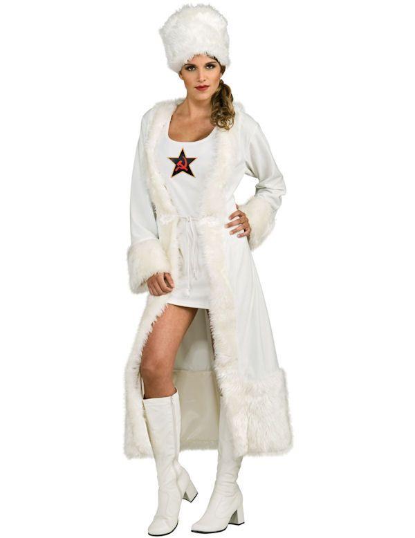 White robe fancy dress.