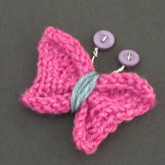 Knitting Pattern Butterfly Toy : 17 Best images about Church: Lenten KAL/CAL on Pinterest Loom, Potholders a...