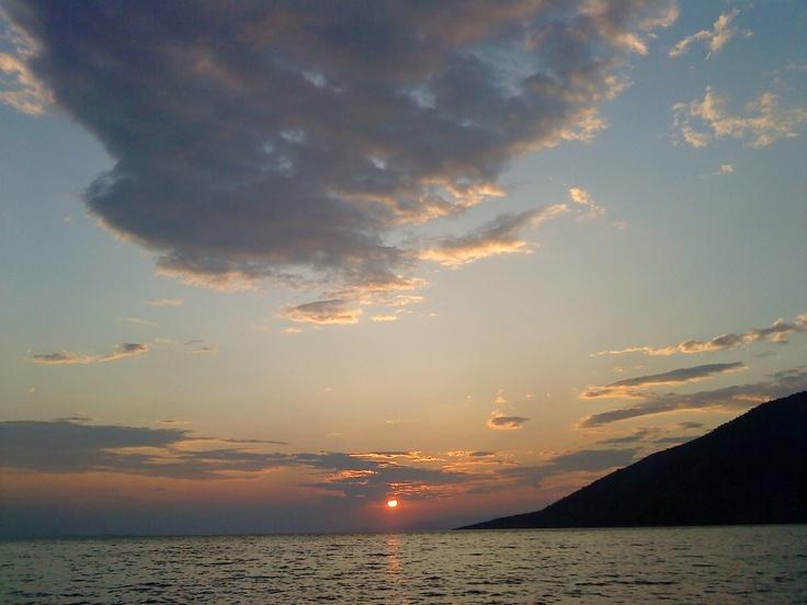 ηλιοβασίλεμα - Αλεποχώρι - Μέγαρα