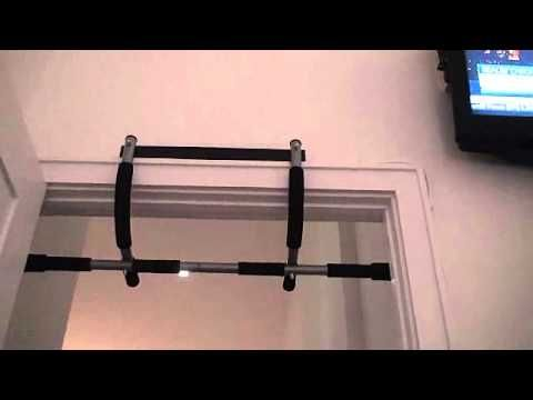 Iron Gym This Is A Pull Up Bar That Attached Over Doorway But Doesn