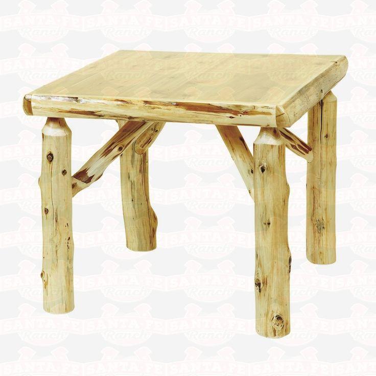Fireside Lodge Furniture Cedar Game #Dining Table #rusticfurniture http://www.santaferanch.com/