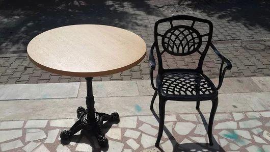 Döküm Sandalye Masa