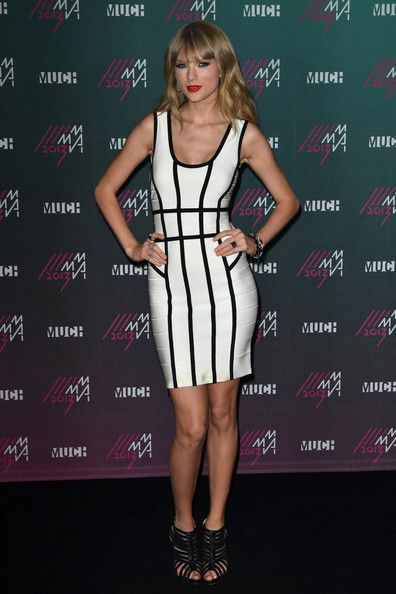 Taylor Swift's Sexy Herve Leger Bandage Dress