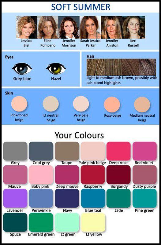 Цветотип Мягкое лето (113 фото): палитра для макияжа, рекомендуемый цвет волос, примеры знаменитостей и комплектов одежды