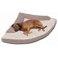 Corner Bed w/ Bolster - Dog Supplies
