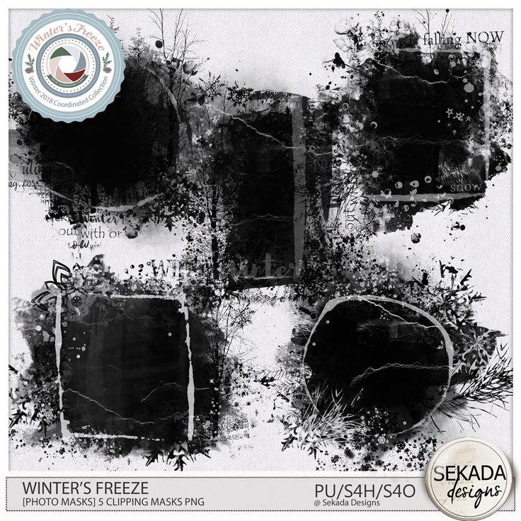 Digital Art :: Element Packs :: Winters Freeze [Photo Masks] by Sekada Designs