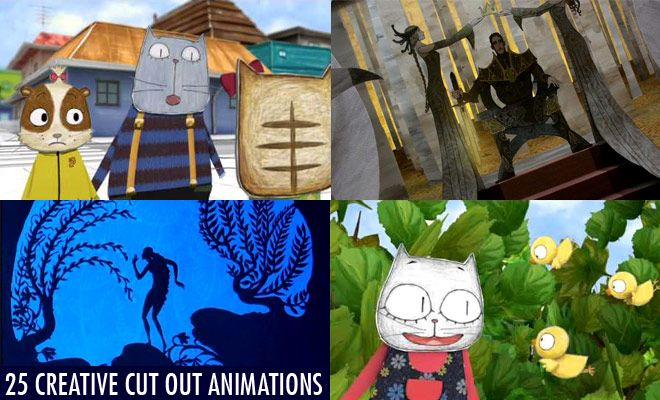 Experimental Cut Out Animation Cut out animation is a technique for producing animations using flat characters, props and backgrounds cut from materials such as paper, card, stiff fabric or even photographs.