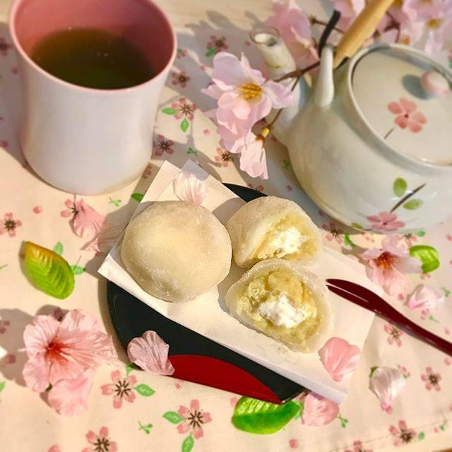 【nackey_cookie】さんのInstagramをピンしています。 《. 2017/02/07 ❁さつまいもクリーム大福❁ . 娘の離乳食作りで、さつまいもがついつい残りがち🍠 お正月にみかん大福を作った時の白玉粉が残っていたので、再び大福にチャレンジしてみました (お茶は何気に金粉入り) . それにしても、ぎゅうひ作りは毎回自分がとりもちにかかった鳥の気分になりますな… 片栗粉様々だ…… . ふらりと立ち寄った陶器市で買った急須、可愛くてお気に入りです.*✿ 日本人はやっぱり温かいお茶ですね . . #cooking #おかし #お菓子 #お菓子作り #おうちカフェ #和 #和菓子 #手作り和菓子 #スイーツ #手作りスイーツ #おやつ #大福 #クリーム大福 #さつまいも #日本 #桜 #さくら #緑茶 #日本茶 #急須 #wagashi #daifuku #greentea #nippon #japan #japanesefood #japanesesweets #sweets #instacook #instacafe .》