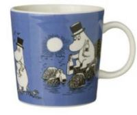 5. Moomin Mug Dark Blue 1991-1999