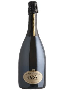 In 1850 Pinot Noir arrived in Italy thanks to the will of Count Augusto Carlo Vistarino. Some years later, he started the production of the first italian METODO CLASSICO BRUT. http://www.papounti.it/cantine/contevistarino/Spumante/Conte-Vistarino-1865/2006/409