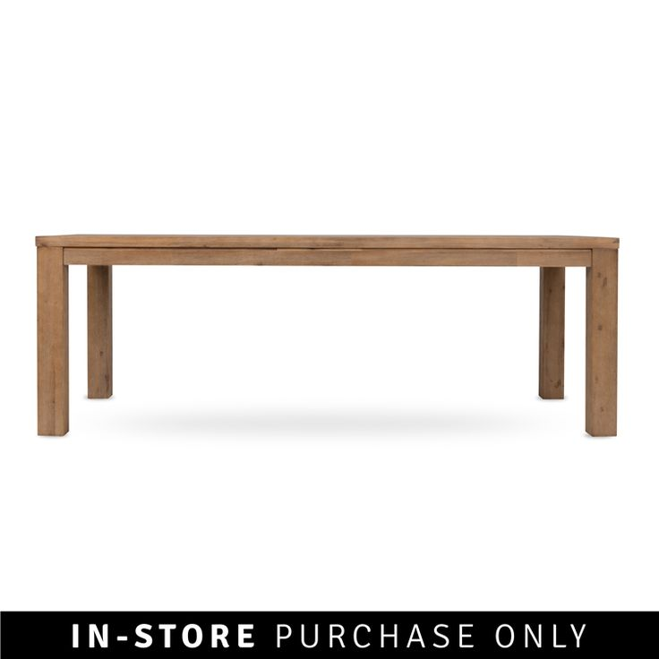 fossil dining table acacia 3m