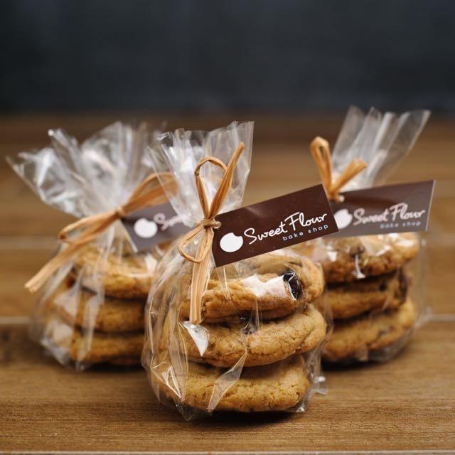 Handmade Gift Bag Transparent Cookie Bag Biscuit Packaging Bag Soap Bag White LE